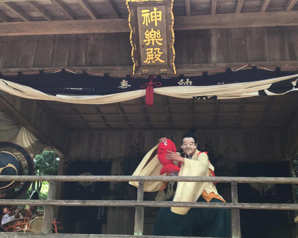 鹿島大神宮の太々神楽(えびす)