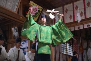 鹿島大神宮の太々神楽(御神囃子)